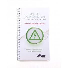 Manuel de prévention - opérations d'ordre non électrique