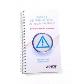 Manuel de prévention - opérations d'ordre électrique