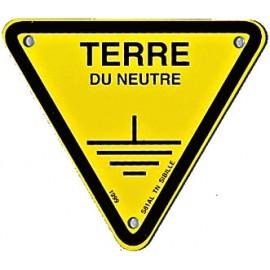 "Triangle d'avertissement ""Terre du neutre"""