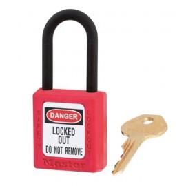 Cadenas de consignation Zenex 38x44 avec retenue de clé